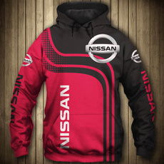 nissanhoodie, 3D hoodies, Fashion, unisex