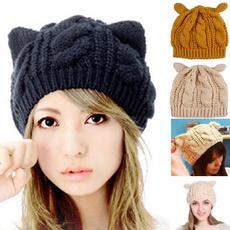 Beanie, Fashion, knit, crochethat