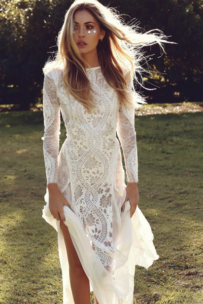 Fashion, Lace, Sleeve, floral lace