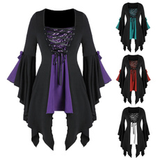Fashion, gothic clothing, Halloween Costume, Shirt