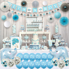 Garland, babyshowerforboy, Kit, elephantpaperfan