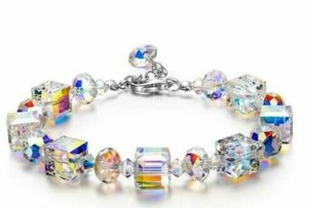 Charm Bracelet, elegantbracelet, DIAMOND, Jewelry