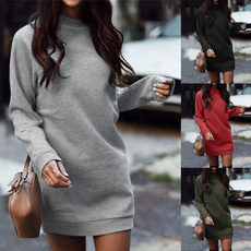 Autumn, Fashion, Winter, Dress