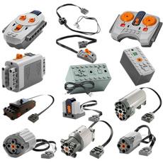 Box, forlego, led, blocksmotor