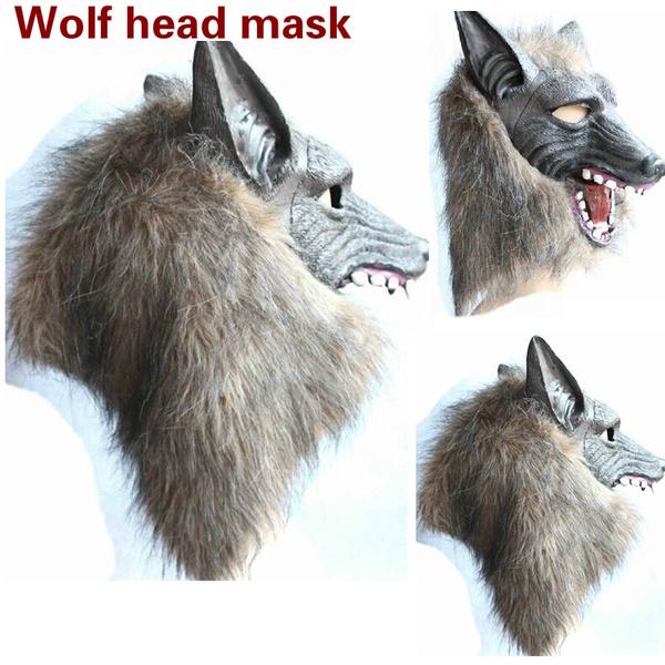 wolfheadmask, wolfheadgear, Cosplay, Halloween