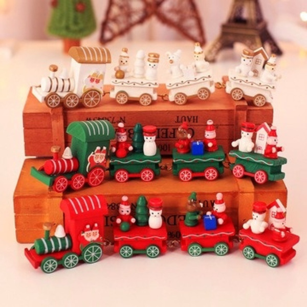 Home & Kitchen, Decor, Christmas, Wooden