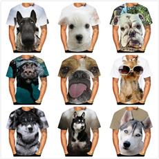 3danimalsprintedtshirt, cute, animalprintwomenstshirt, Summer