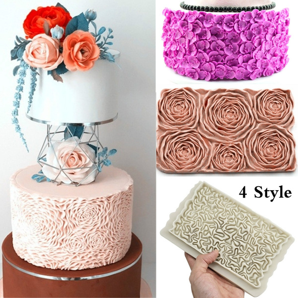 Flowers, Baking, Silicone, Molds
