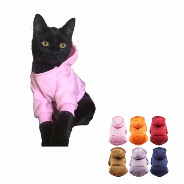 Fleece, pet clothes, sporty, Fleece Hoodie