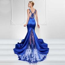 Lace, Sleeve, eveningparty, Dress