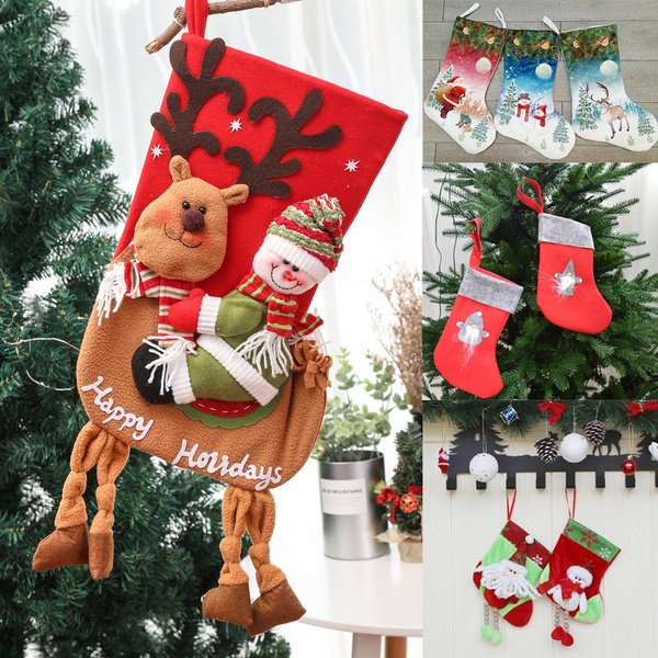 Christmas, Santa Claus, christmasstocking, Socks