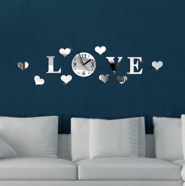 Decor, Love, Home Decor, Clock