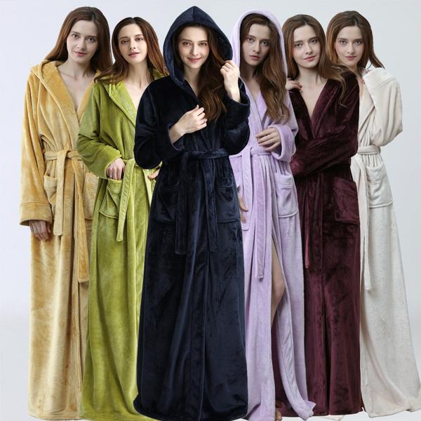 hooded, Long Sleeve, Dress, Hotel