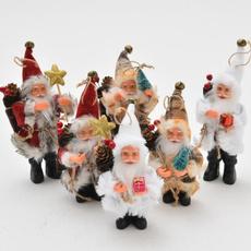 Christmas, Gifts, doll, Santa Claus