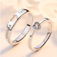 Steel, Couple Rings, Fashion, Love