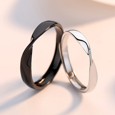 Sterling, wedding ring, Gifts, Simple