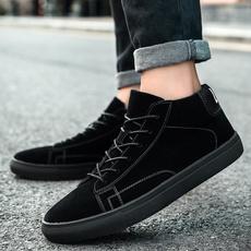 non-slip, ankle boots, flatsampoxford, Fashion