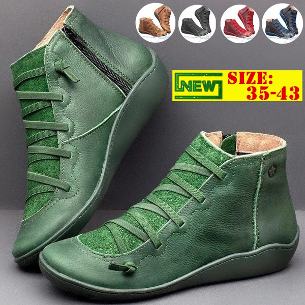 Medieval Arch Support Ankle Boot
