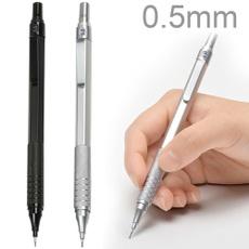 drawingpenpencil, pencil, 05mmautomaticpencil, metalmechanicalpencil
