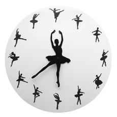 Ballet, ballettimewallclock, ballerinadancerwallclock, Gifts