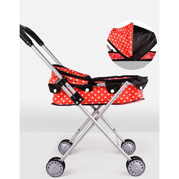 Toy, childrenfoldingcart, trolleytoysforkid, dollpramtoy
