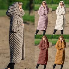 Fashion, sweatercardigan, sweater coat, Long Sleeve