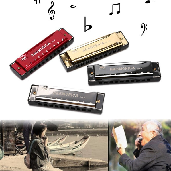 customharmonicabelt, toyharmonica, mouth, 10holesbluesharmonica