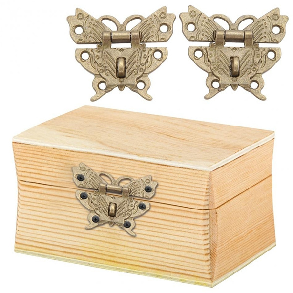 butterfly, case, Jewelry, boxhasp