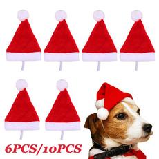 cute, dogsantahat, Christmas, Pets