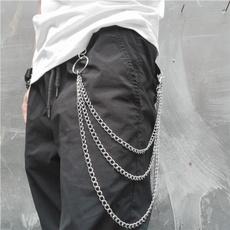 Hip Hop, Jeans, punkchain, Fashion