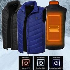 Vest, Fashion, Winter, Battery