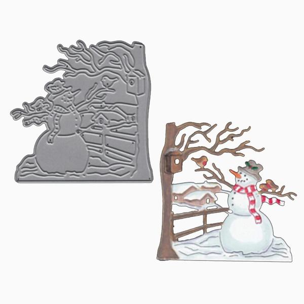 snowman, album, Decor, Scrapbooking