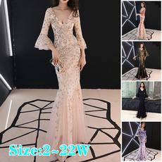 gowns, evening, Joyería, gold