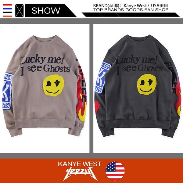 Kanye West KIDS SEE GHOSTS Hoodie Men