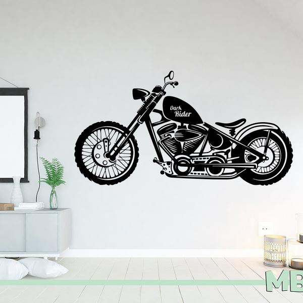 kids, pvcsticker, motorbike, Stickers