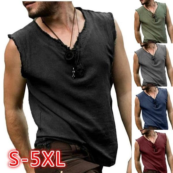 Summer, Vest, Plus Size, vneckvest