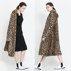 leopard print, fur, leatherandfur, Coat