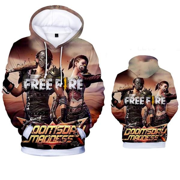 Women Men Free Fire 3d Print Hoodies Fashion Style Cartoon Clothes Hoodies And Sweatshirts 13 Pattern Wish