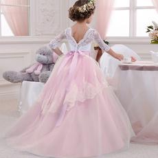Lace, girl dress, Dress, Costume