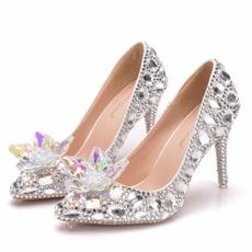 butterfly, dress shoes, DIAMOND, Jewelry