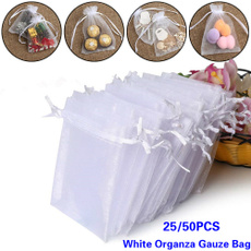 party, whiteorganzagauzebag, candypackaging, Food