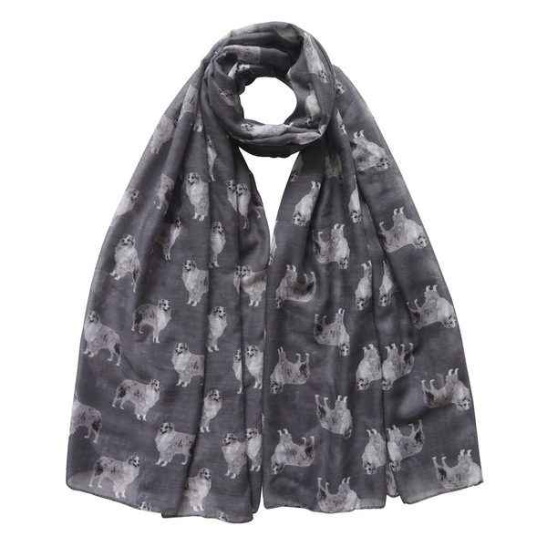 fashionscarfformen, Fashion, giftscarf, australianshepherd