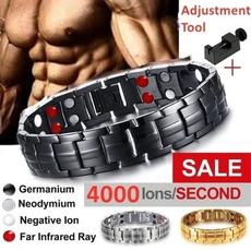 Titanium Steel Bracelet, Jewelry, Gifts, magneticbracelet