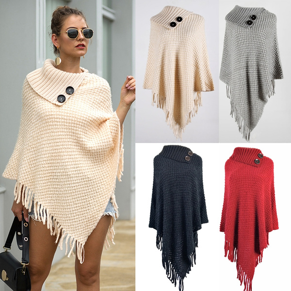 Tassels, Women Sweater, long sleeve blouse, Winter