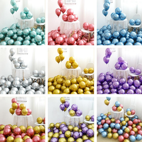 Jewelry, ballon, gold, partydecor