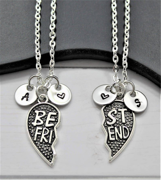 friend, Jewelry, Gifts, initial
