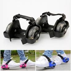 Skate, Outdoor, light up, heelskateshoe