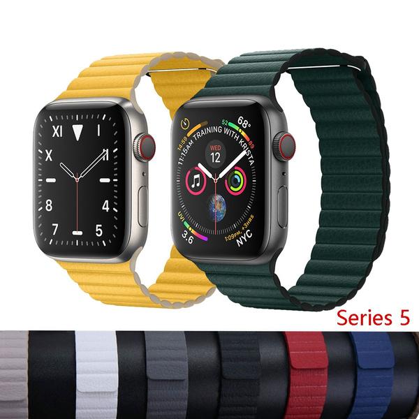 leatherloopband, applewatch5band, Apple, leather