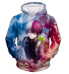 3D hoodies, rockband, Sleeve, teenclothe