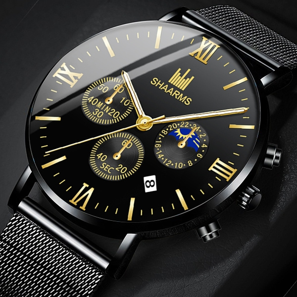 Chronograph, Fashion, business watch, Waterproof